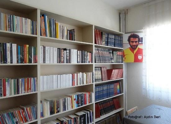 Metin Kurt Kütüphanesi ve Lefter Kütüphanesi açıldı!