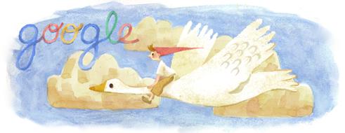 selma lagerlof-google doodle