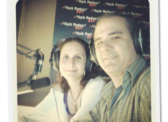Açık Radyo'da 100. Programımızı Yaptık
