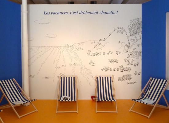 Paris'te Pıtırcık sergisi