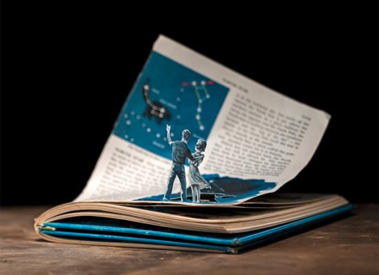 Kitap kahramanları sayfaların dışına taşarsa…