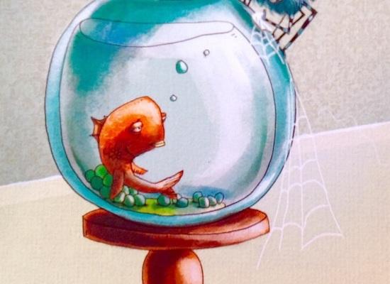 Tembel Balık Sefa ile Sadık, Akıllı Bıdık