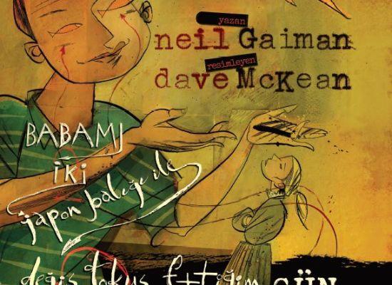 Neil Gaiman'ın bir kitabı daha Türkçe'de!