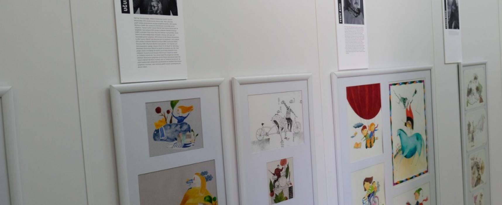 Çocuk dünyasının ressamları müzelerine kavuştu